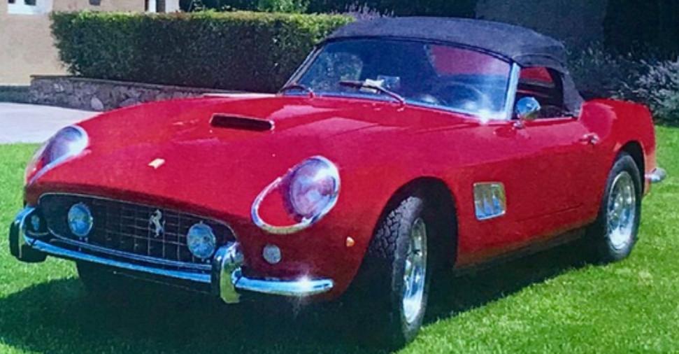 Ferrari 250 Swb California Spider 1964 Oldtimer Classic
