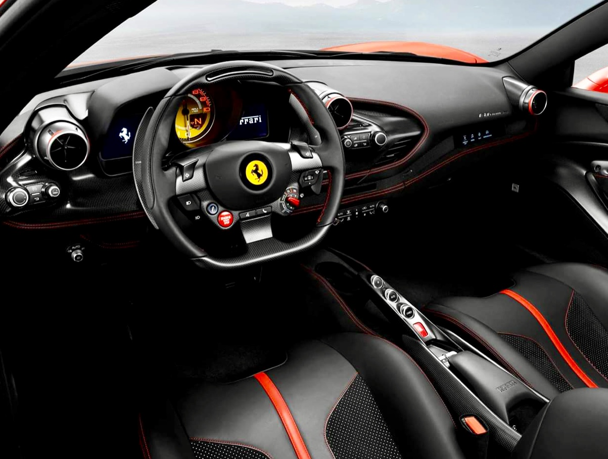 New Ferrari F8 Tributo, Delivery 02/2020, Red, Full Options